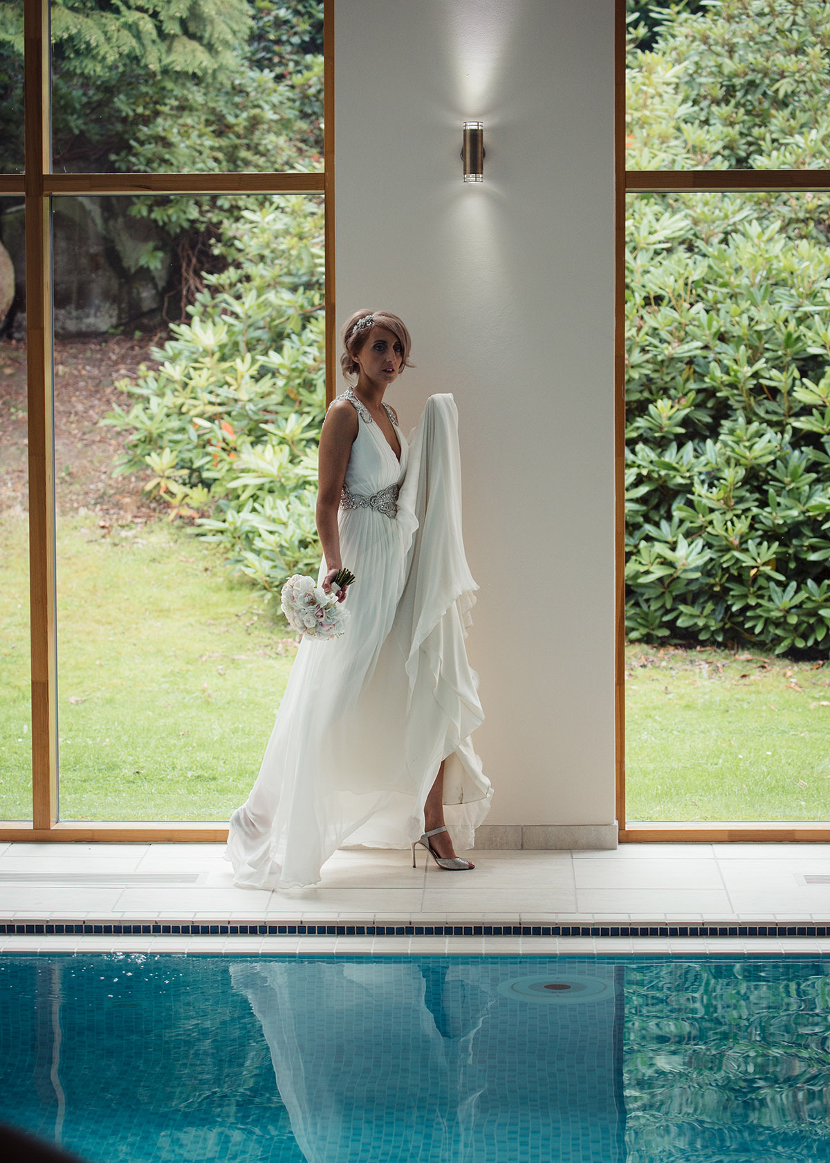 Stancliffe Hall Derbyshire Wedding Photography