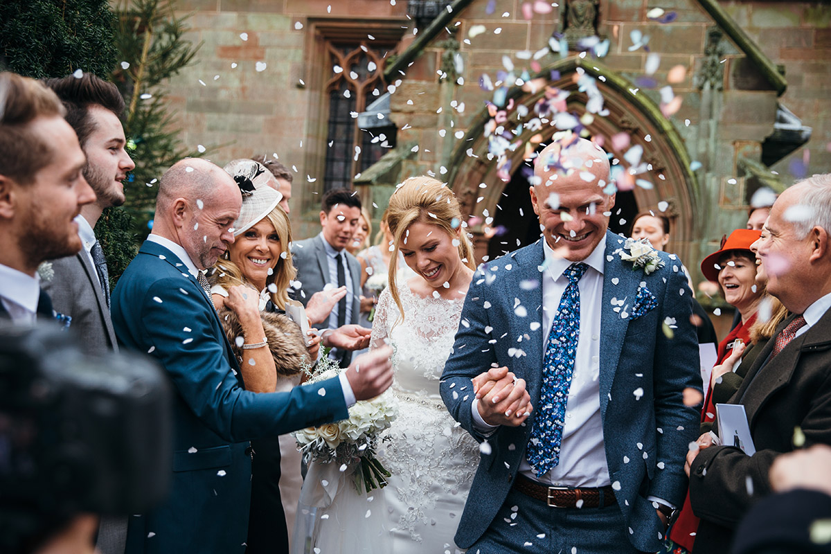 Wedding Photography Derbyshire with Confetti 0006