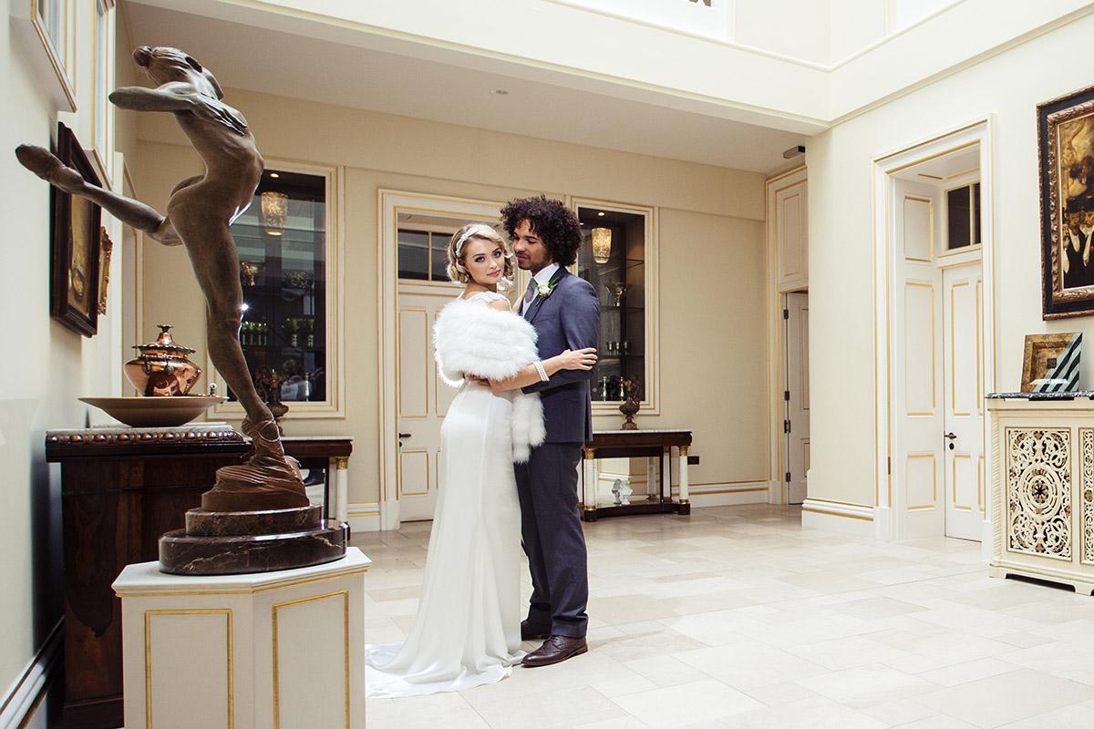 Stancliffe Hall Nottingham Wedding Photography Bride & Groom 009