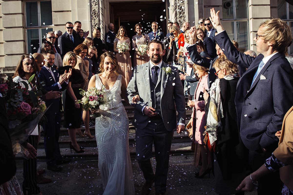 London Wedding Photographer Town Hall