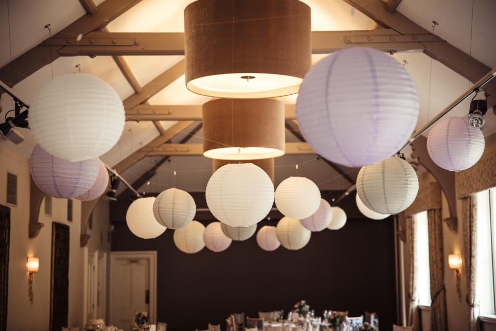 stancliffe hall wedding decoration