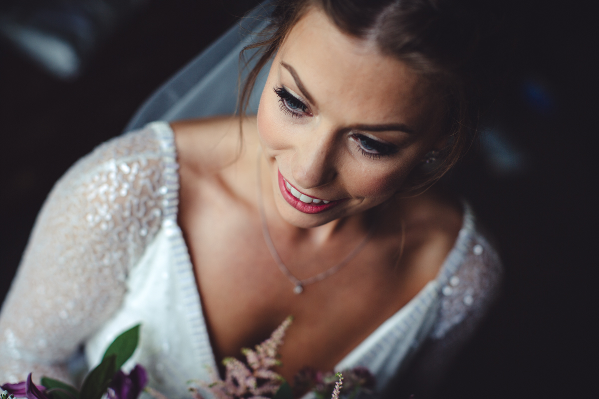 Bride makeup nottingham wedding