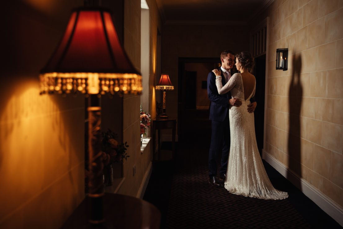 The Priest House Hotel Creative Wedding Photography Derbyshire Bride & Groom Outdoors 0021