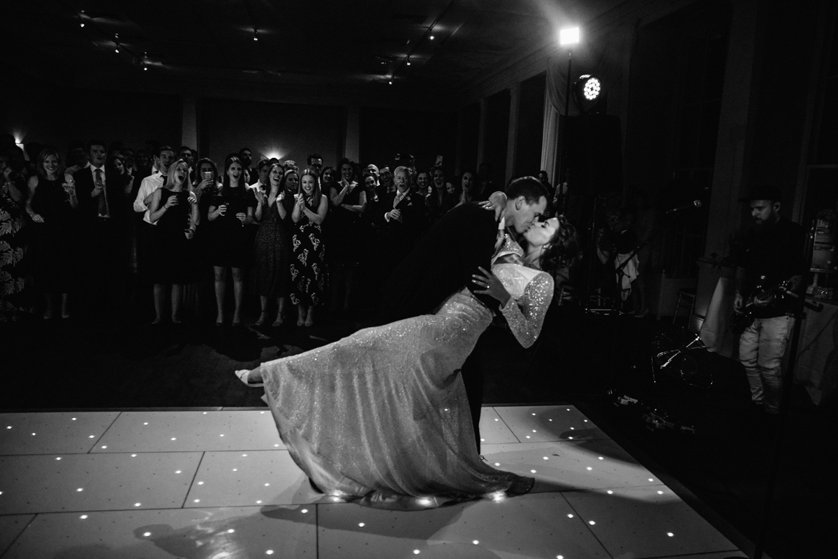 dance floor picture stubton hall wedding